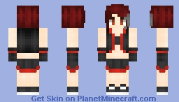❆𝓝𝓲𝓷𝓳𝓪𝓖𝓲𝓻𝓵2024❆ Kaia (Requested) Minecraft Skin