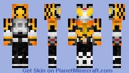 Kamen Rider Knuckle 仮面ライダーナックル Minecraft Skin