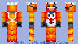 Lobster Chef! the chef of the seven seas Minecraft Skin