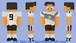 ﴾ξꭚꞕꝍ₮₮ἷ﴿ Team Germany FIFA WM 2018 Minecraft Skin