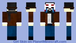A Strange Man Minecraft Skin
