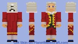 ﴾ξꭚꞕꝍ₮₮ἷ﴿ Wolfgang Amadeus Mozart Minecraft Skin