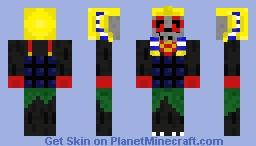 LEGO Adventurers Mummy Minecraft Skin