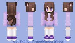 ღ𝑀𝒶𝓇𝒶ღ If my wings could fly~ Minecraft Skin