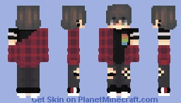 I'm not what he wants Minecraft Skin
