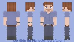 Owen Grady Jurassic world Falen kingdom no jacket variant Minecraft Skin