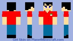 Papa John Minecraft Skin