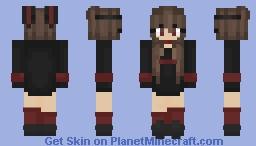 BunnyGirl Minecraft Skin