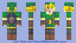 ♥мαηgℓє∂♥ Lonk Minecraft Skin