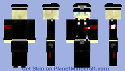 Wolfenstien Deathshead (Formal Original) Minecraft Skin