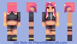 splatoon octo expansion - octoling girl Minecraft Skin