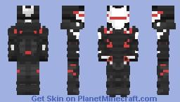 Omega Fortnite (Fully Upgraded) Minecraft Skin