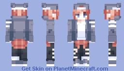 Υυmmγ' - Going outside. ._. Minecraft Skin