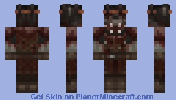 Robb Stark / Grey Wind Minecraft Skin