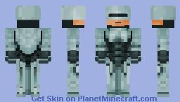 ﴾ξꭚꞕꝍ₮₮ἷ﴿ Robocop Minecraft Skin