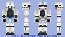 MS-06z Psycho Zaku II Mobile Suit Gundam 0079 || Skin Remake and Request Minecraft Skin