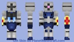 YMS-15 Gyan || Mobile Suit Gundam 0079 || Skin Remake Minecraft Skin