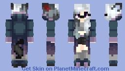 Silver Midnight (Persona Redesign) Minecraft Skin