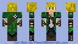PVP Adventure Boy Minecraft Skin