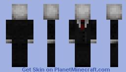 DARK REFINED Slender/Slenderman Skin! Minecraft Skin