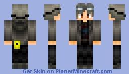 peter maximoff Minecraft Skin