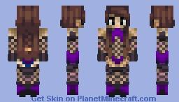 Vishkanya Kunoichi Minecraft Skin