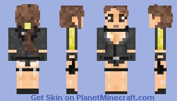 Lara Croft - Swimmsuit Minecraft Skin