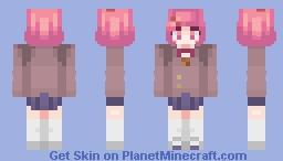 Natsuki - ddlc 🌺 Minecraft Skin