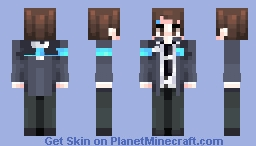 ❝You're starting to piss me off with that coin, Conner❞ Minecraft Skin