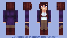MCSkin3D - First Use Minecraft Skin