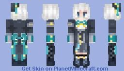 Fluffy Gentleman Minecraft Skin