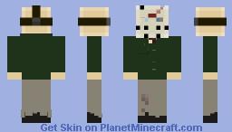 Friday The 13th: Part 4 - Jason Vorhees Minecraft Skin
