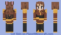 Velvet Scarlatina - RWBY skin redo Minecraft Skin