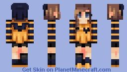Honeybee Minecraft Skin