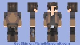 Han Solo | Star Wars story POPREEL Minecraft Skin