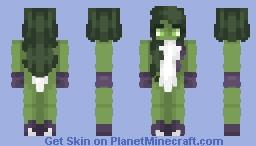 She-Hulk Minecraft Skin