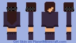 Chibi Kiki!!~  Minecraft Skin