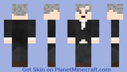 Bill Nye the Aging Guy Minecraft Skin