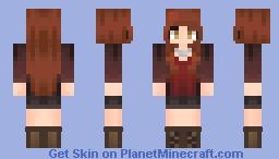Amy Pond - Doctor Who Minecraft Skin