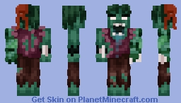 drowned man Minecraft Skin