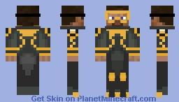 Subnautica Steve Minecraft Skin