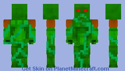 Swamp Thing (Alec Holland) Minecraft