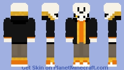 SwapFell-Red Papyrus Minecraft Skin