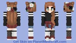 (c) lqvender | hey! how ya doin? well im doin just fine, i lied, im dying inside Minecraft Skin