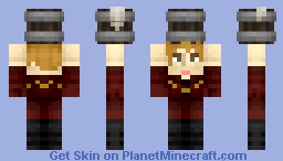 Tyrion Lannister holding a flagon of Ale Minecraft Skin