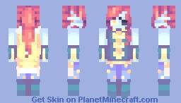 Outertale - Undyne Minecraft Skin