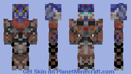 Transformers Age of Extinction Evasion Mode Optimus Prime Minecraft Skin