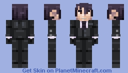 "Vincent Phantomhive(ヴィンセント・ファントムハイヴ) ""Black Butler"" Minecraft Skin"