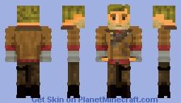 ﴾ξꭚꞕꝍ₮₮ἷ﴿ William J. Blazkowicz, from Wolfenstein - ମequest Minecraft Skin
