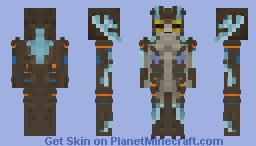 The Asset (Shape Of Water) Minecraft Skin